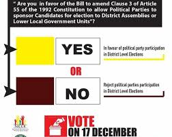 December 17 referendum: NDC wants 'NO' vote to avoid polarization