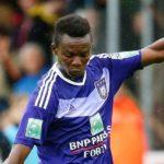 Ghana's Emmanuel Sowah Adjei features in Anderlecht's behind closed door friendly