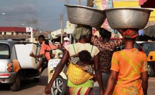 Akufo-Addo's government exempts kayayei from paying market tolls