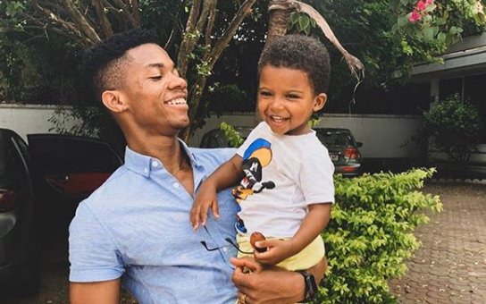 PHOTOS: Kidi flaunts his 3-year-old son