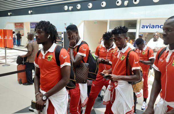 PHOTOS: Kotoko leave for San Pedro 2nd leg tie in Ivory Coast