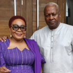 'You stole my heart ...' - Lordina Mahama's birthday message to her husband