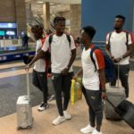 Coach Tanko's Black Meteors land in Egypt for U23 Afcon