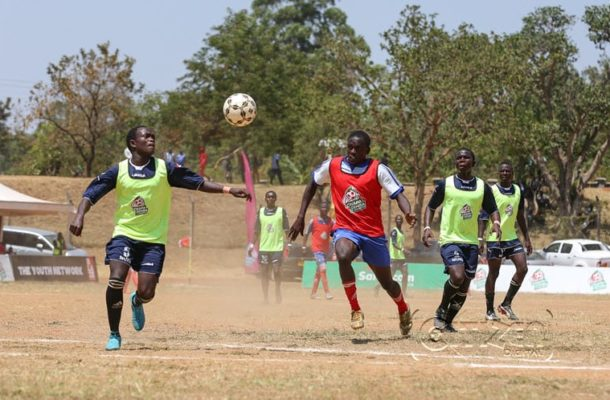 Ghanaian scouts in Kenya for young talented players