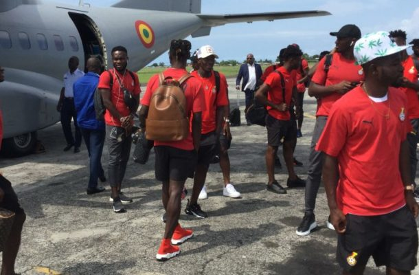 VIDEO: Black Stars made quick return to Ghana after win against São Tomé and Principe