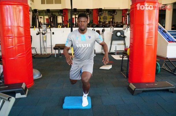 PHOTOS: Caleb Ekuban steps up recovery from injury