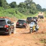 The 'unprecedented road network' built by the NDC
