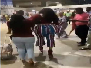Dr. Obengfo reacts to video of lady with huge butt who caused stir at KIA