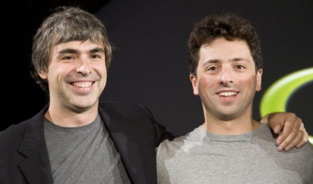 Google co-founders step down from parent firm