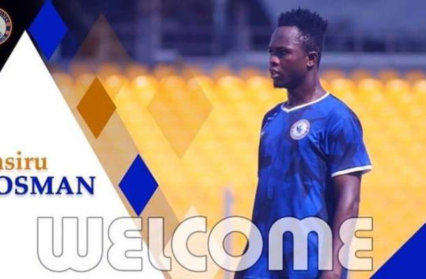 Berekum Chelsea completes Naziru Osmanu signing