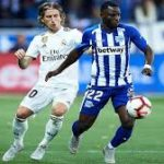 Wakaso features as Real Madrid beat Alaves at home