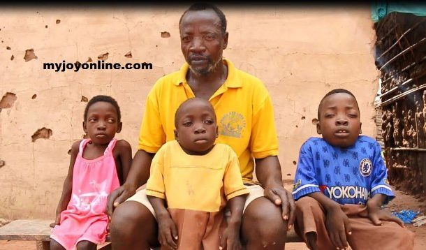 Couple with 3 children with rare abnormal growth left devastated