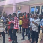 Aggrieved customers of defunct Tikowre Capital pitch camp at Zoe Embassy