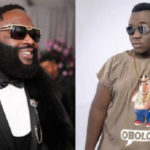 Rick Ross performs with CJ Biggerman at Detty Rave 2019