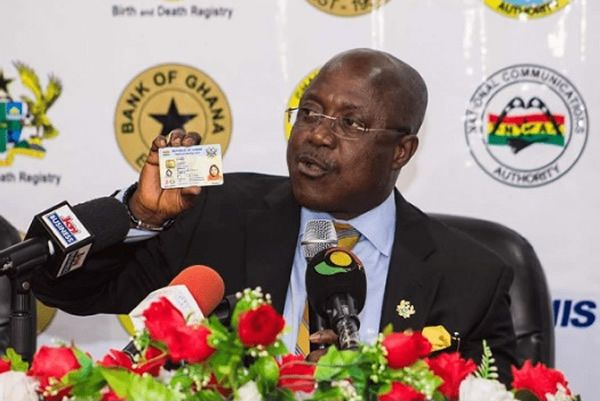 NIA registers 4.85 Million Ghanaians for Ghana Card