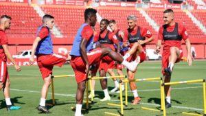 Ghanaian trio return to Mallorca training ahead of Barcelona clash