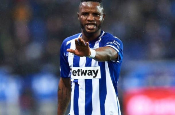 Exclusive: Wakaso among three most used players at Deportivo Alaves