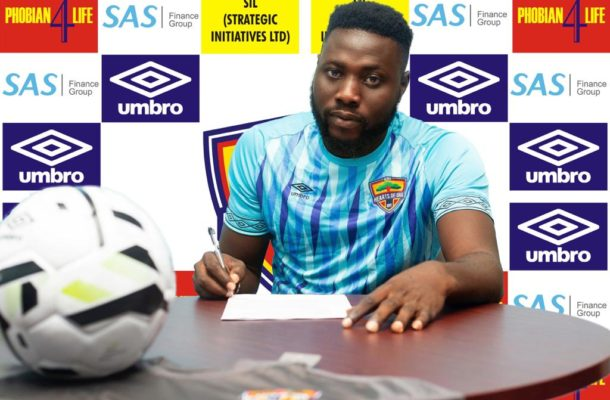 Hearts of Oak new boy Richard Attah embraces tough test in goalkeeping department