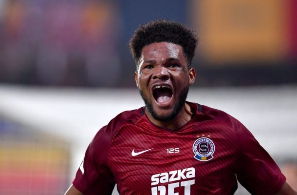 Sparta Prague Manager jumps to the defense of out-of-form Benjamin Tetteh