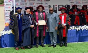 PHOTOS: Executive Council member Randy Abbey bags a doctorate degree