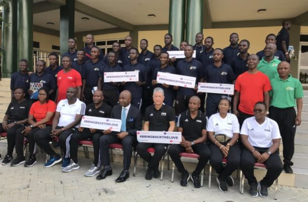 GFA Opens 4-day integrity seminar for referees