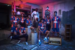 PHOTOS: Legon Cities Football Club unveil new jerseys  in stunning fashion