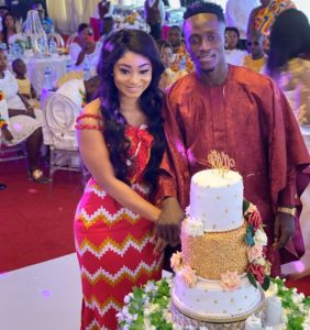 PHOTOS & VIDEO: Black Stars striker Emmanuel Boateng ties the knot in plush wedding