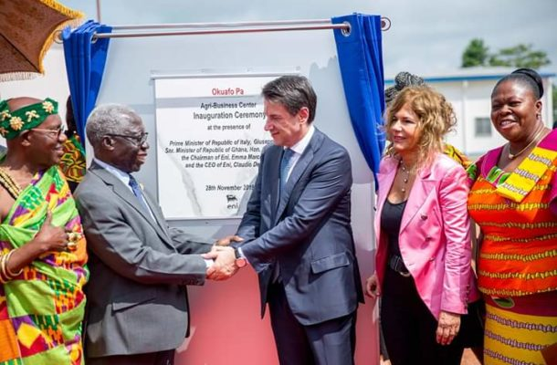 Government commissions TVET project in Dormaa East