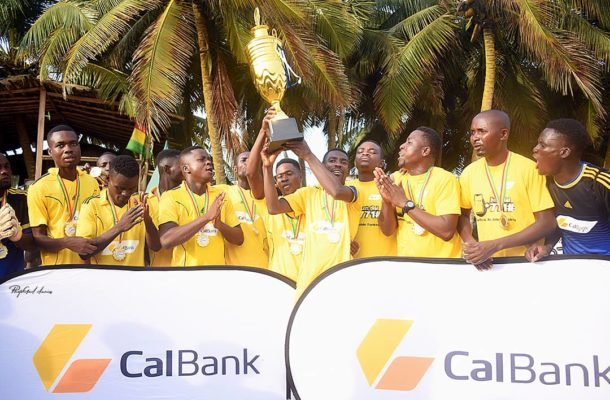 """Mighty Warriors embark on """"Thank You"""" trophy tour in the Volta region"""