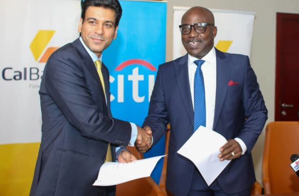CalBank signs USD108M term facility with opic and citibank to support SMEs