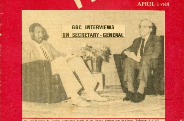 Ghana's finest veteran broadcaster, Cyril Acolatse goes home