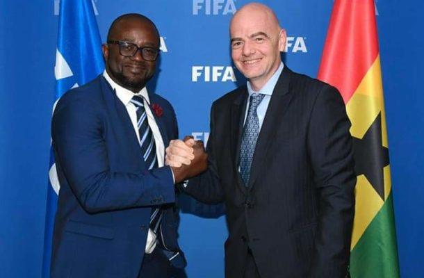 President Kurt Okraku chairs international relations committee of Ghana FA.
