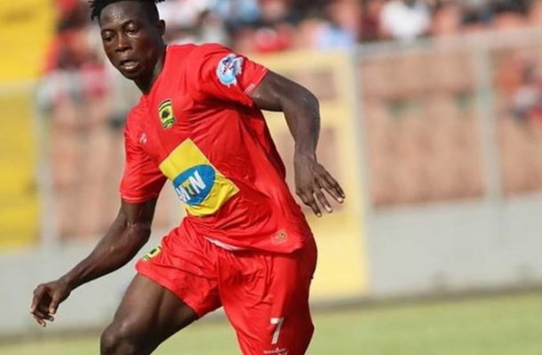 VIDEO: Watch Justice Blay's goal that has given Kotoko the lead vs Hearts