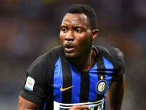 Kwadwo Asamoah absent from match day squad as Barca dump Inter out of Champions League