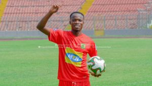 VIDEO: Asante Kotoko announce signing of midfielder Kwame Adom Frimpong