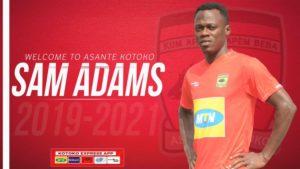VIDEO: Kotoko announce signing of former Aduana Stars winger Sam Adams