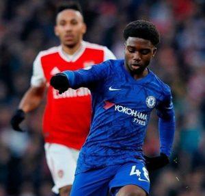 VIDEO: Watch Chelsea academy graduate Tariq Lamptey make debut against Arsenal