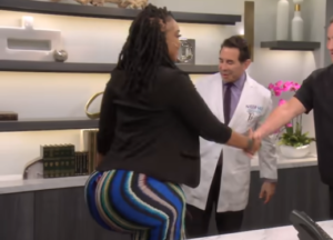 VIDEO: Woman with 60-inch butt had six rounds of illegal injections
