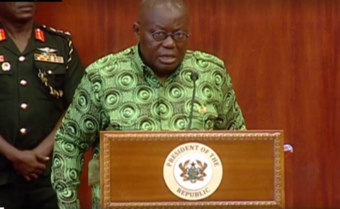VIDEO: Government actively discussing possible lockdown – Akufo-Addo
