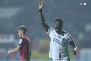 Asamoah Gyan is a good player but we'll defend with freedom - Coach of ATK