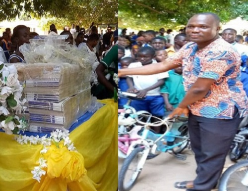 A/R: CEO of Gerkings Japanese Language School donates to basic schools in Drobonso