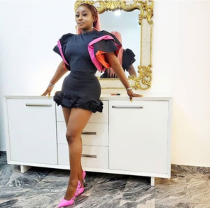 PHOTOS: Actress Ini Edo flaunts her curvaceous body