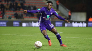 Jeremy Doku named man of the match in Anderlecht cup win