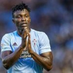 Joseph Aidoo escapes suspension as he avoids yellow card against Athletico Madrid