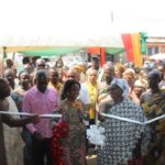 PHOTOS: Oforikrom Municipal Assembly hands over market stalls to traders in Kotei