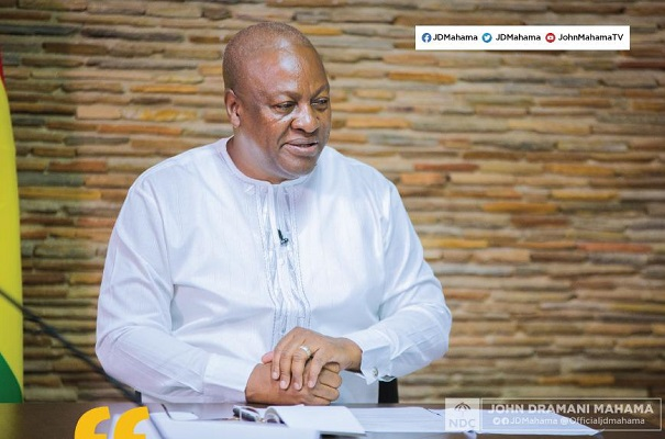 Coronavirus: Let's act as we pray – Mahama to Ghanaians
