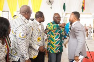 Video+Photos: Mahama, Owusu Bempah clash at Assemblies of God church