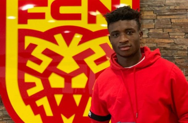 Real Madrid keeping tabs on Ghanaian youngster Mohammed Kudus