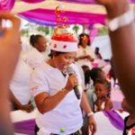Nana Ama McBrown throws Christmas party for kids living with autism & orphans
