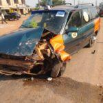 Boadi: Driver battling for his life at Tech hospital after smashing his cab into Pickup truck